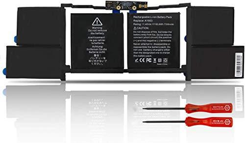 Onlyguo 7.3V 35Wh A1406 Reemplazo de la batería del portátil para Apple MacBook Air 11' A1406 A1370 (2011 Version) 020-7376-A 020-7377-A MC968 MC969 MC965 MC506LL MC969LL