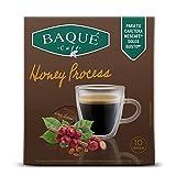 BAQUÉ CAFÉ Honey Process 10 Cápsulas Compatibles Con Dolce Gusto, Chocolate Con Leche, 100 Gramo