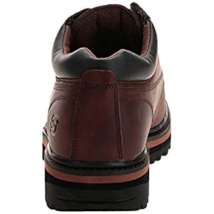 Skechers USA Men's Mariner Utility Boot,Dark Brown,11 WW US