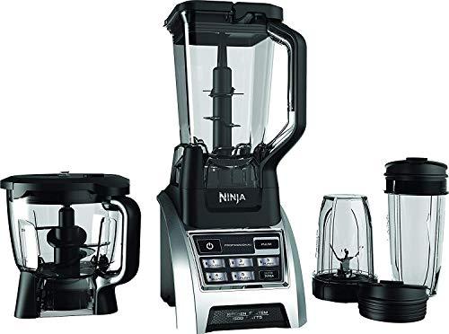 Ninja Professional Blender 1200W Kitchen System BL685 (Renewed)