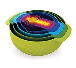 Multi-colored Nesting Food Prep Set