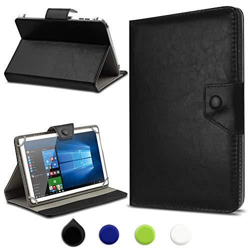 UC-Express Archos 101b Oxygen Tasche Tablet Hülle Case Schutz Cover Schutzhülle Tablethülle, Farben:Schwarz