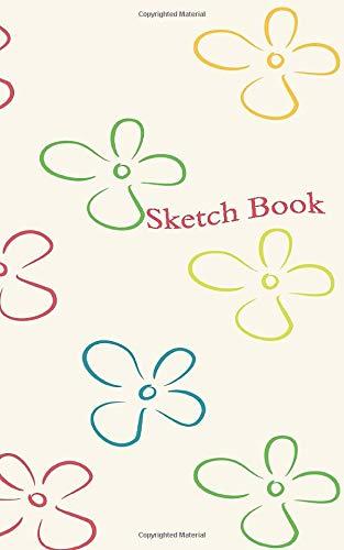 Travel Size Sketch Book: Flower Doodles