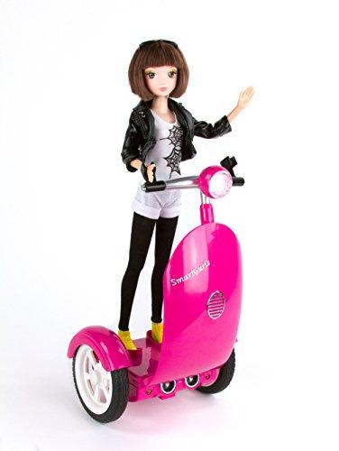 Robot da programmare per ragazza, ideale per gruppi di età da 6a 12, scooter per bambole, gestibile con app per iPad, tablet e smartphone