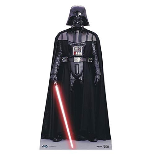 Star Cutouts Ltd SC905 Darth Vader Mini Star Wars Pappaufsteller Höhe 96 cm für Fans, Partys und Sammler, Mehrfarbig