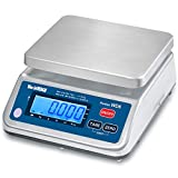 WorldWeigh WD Food Portion Scale, 12 lb x 0.002 lb, LCD, Stainless Steel, IP65, NTEP, Rechargeable Battery
