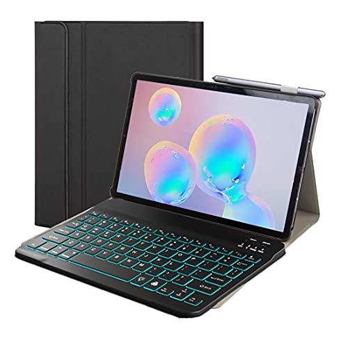 LISUONG MCDC AYD ST870S para Samsung Galaxy Tab S7 T870 / T875 11 Pulgadas 2020 Funda de Cuero Bluetooth Desmontable Ultrafino con función de Soporte y para Dormir (Color : Blue)