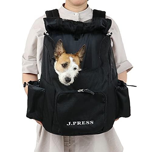 NEW 犬 キャリー 夏 リュック ペットパラダイス J.PRESS ハグ&リュック キャリーバッグ マルチ 黒 ジェイプレス キャリーバック 抱っこ だっこ イヌ おしゃれ かわいい 猫 【小型犬】