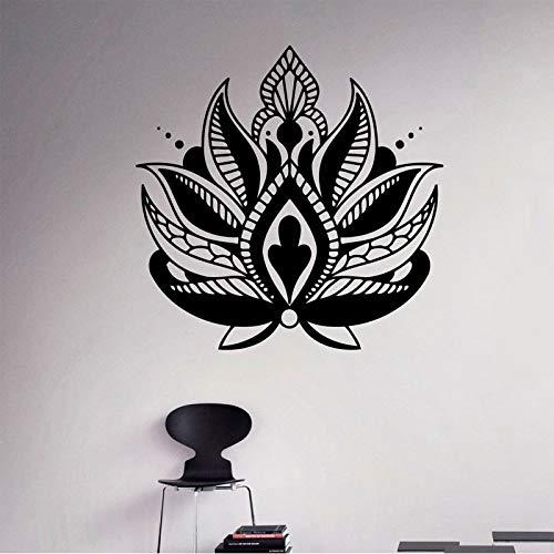 sanzangtang bloem lotusvinyl applique bloem etnische sieraden wandsticker Indiase hoofdeindedecoratie huishoudelijke voorwerpen