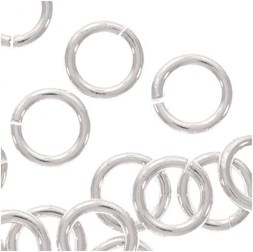 Max 59% OFF 50 5mm Open Jump Large special price !! Rings Sterling 36002 19 gauge Silver