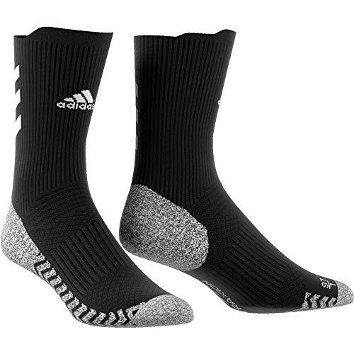 adidas Ask TX CRW LC S Socks, Black/White/White, S