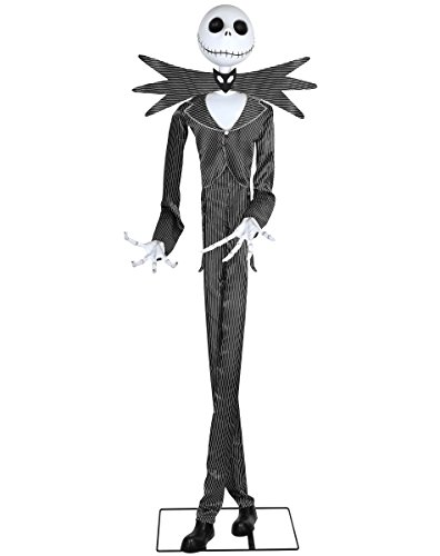 Talking Jack Skellington Halloween Decoration