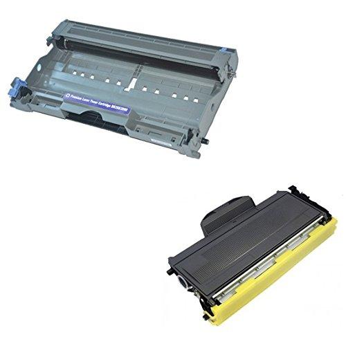 Cartridges Kingdom DR2000 Trommeleinheit & TN2000 Toner kompatibel mit Brother DCP-7010 DCP-7020 DCP-7025 HL-2030 HL-2032 HL-2040 HL-2050 HL-2070 2070N MFC-7220 MFC-7420 MFC-7820 7820N FAX-2820 2920