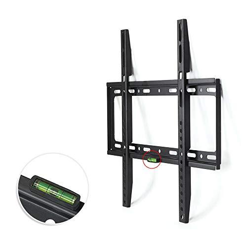 MorNon 32-63 Pulgadas Percha de TV Soporte de Pared para TV Montaje en la Pared Percha de Inclinación Display Universal Stand TV LCD 460MMx420MM Negro
