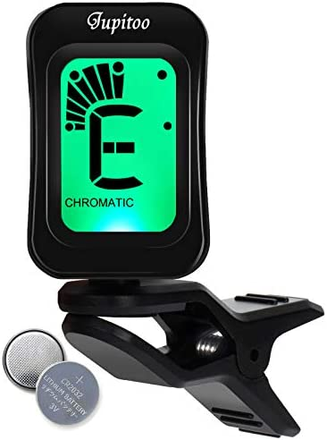 Guitar Tuner Clip On Portable Ukulele Tuner LCD Display Digital Bass Guitar Clip On Tuner 5 product image