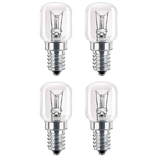 PHILIPS 15220T25 15W 230V E14 2700°K Kühlschrank 57X25mm Packung 4 Lampen