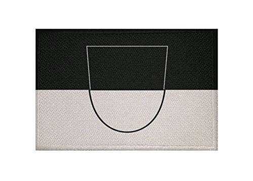 U24 Aufnäher ULM Fahne Flagge Aufbügler Patch 9 x 6 cm