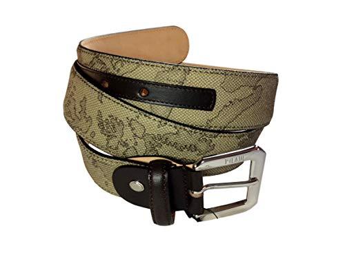 ALVIERO MARTINI Cintura donna Prima Classe colore geo Tortora. Altezza cm. 3,5. Lunghezza cm. 95. Art. CA2756130