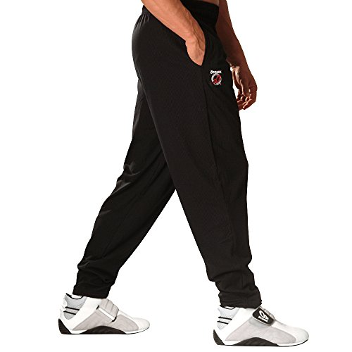 Otomix Men's Baggy Workout Pants MD Black