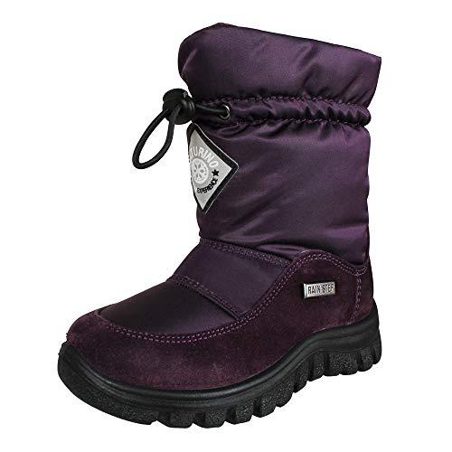 Naturino Unisex Kinder Winterstiefel Varna Viola (violett), Größe:26