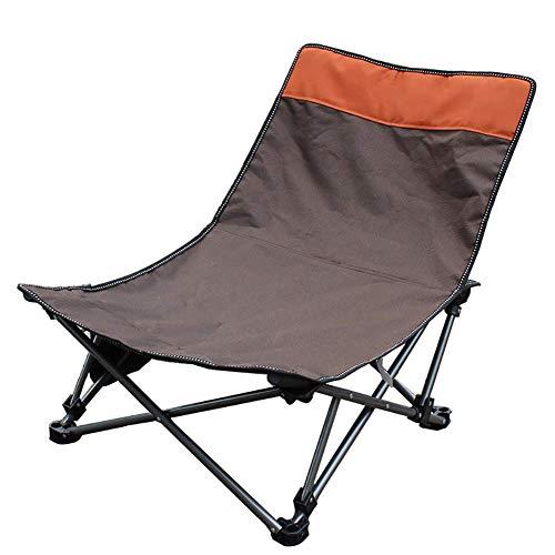 HUALI Silla de Playa Que acampa Plegable de Peso Ligero, Plegable Silla for IR de excursión de Picnic jardín, sillas de Camping portátil Plegable compacta Una LIULI
