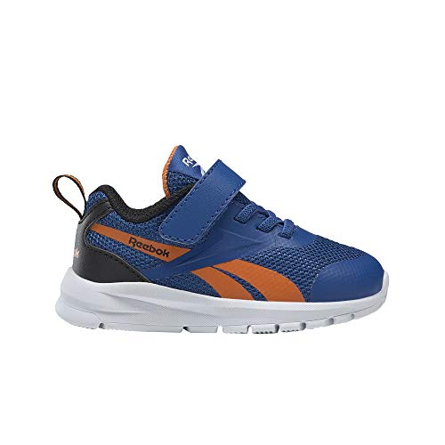 Reebok Rush Runner 3.0 ALT, Zapatillas de Running para Niños, VECBLU/HIVIOR/Negro, 38 EU