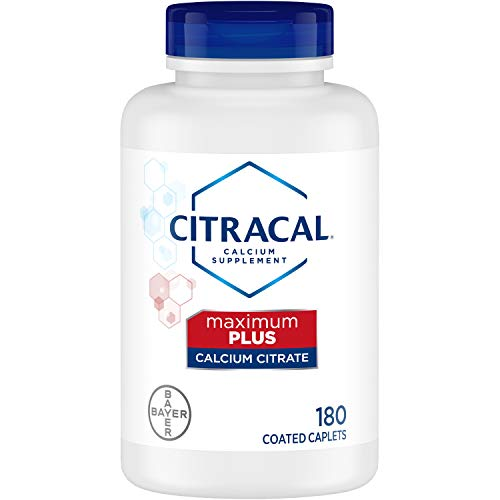 Citracal Calcium Citrate with Vitamin D Maximum, Coated Caplets 180 ea