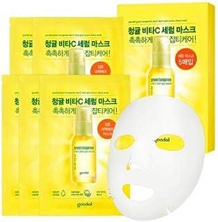 [Goodal] グーダル チョンギュル ビタC汚れセラムシートマスク Green Tangerine Vita C Dark Spot Serum Sheet mask 10 Sheet [並行輸入品]