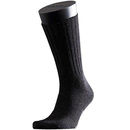 FALKE Casual Herren Socken Nelson 3er Pack, Größe:43-46;Farbe:Anthracite Melange (3080)