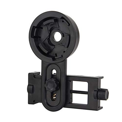 HEMOBLLO Teléfono móvil Soporte de Disparo Teléfono Inteligente Adaptador de cámara Telescopio para monocular