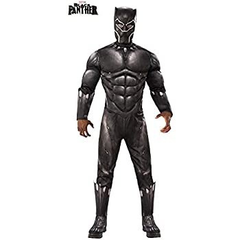 DISBACANAL Disfraz Black Panther Deluxe Adulto - -, XL: Amazon.es ...