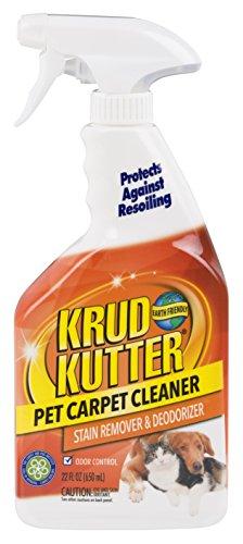 Krud Kutter 305474 Pet Carpet Cleaner and Deodorizer, 22 oz, 22 Fl Oz