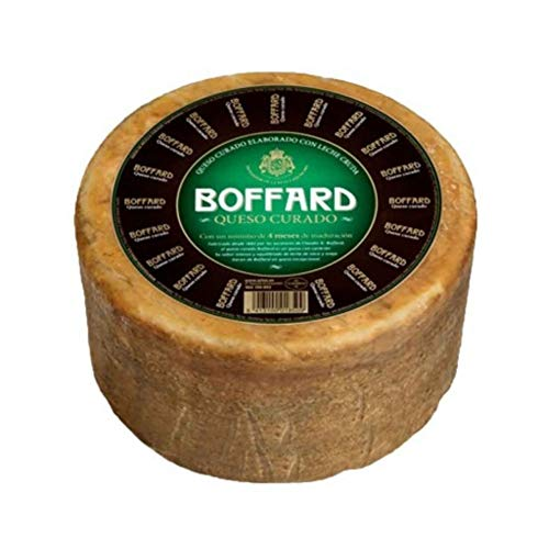 Queso Curado Boffard Artesano ✅ Mejor precio. Queso Boffard elaborado con leche cruda de Oveja y Vaca Peso Aproximado 3 Kilos