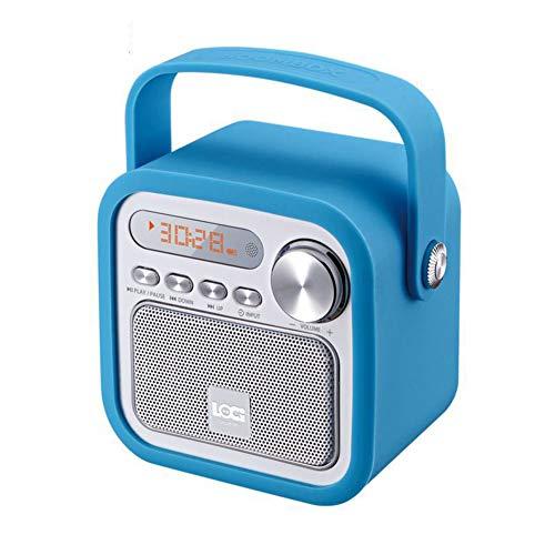PLTJ-Pbs HiFi Bluetooth Speaker Drahtlose Tragbare Audio-Subwoofer-Lautsprecher Desktop Audio Handsfree TF Card Geschenk Party Office Party