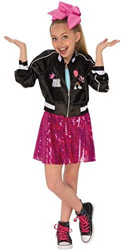 Rubie's 640554L Jojo-Siwa-Bomberjacke Faschingskostüm für Mädchen, L