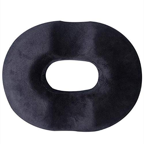 JIASHANHAO Donut Tailbone Pillow Hemorrhoid Seat Cushion for Prostate,Coccyx,Sciatica,Pregnancy,Post Natal Orthopedic Surgery-Good Support