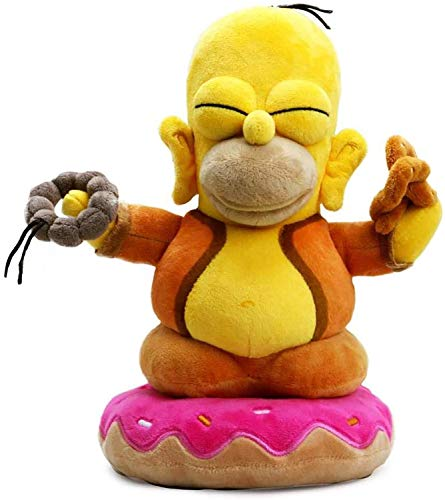 Kidrobot The Simpsons Homer Buddha 10-Inch Plush Figure