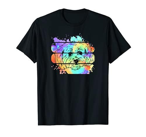 Maltipoo I Malteser Hund Welpe Hundebesitzer Liebe T-Shirt