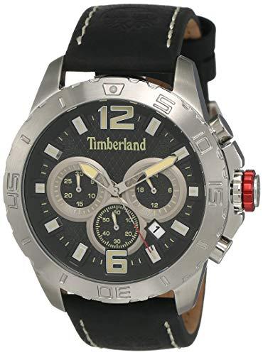 Timberland Reloj Cronógrafo para Hombre de Cuarzo con Correa en Cuero TBL.15356JS/02