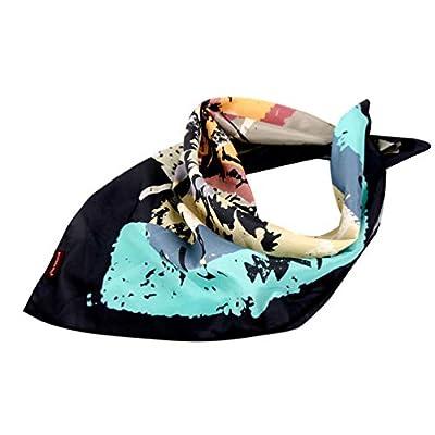 Amazon - Save 50%: Unisex Satin Bandana Scarf 2 pack, Floral Hair Scarf, Wrap Scarf,Protective Co…