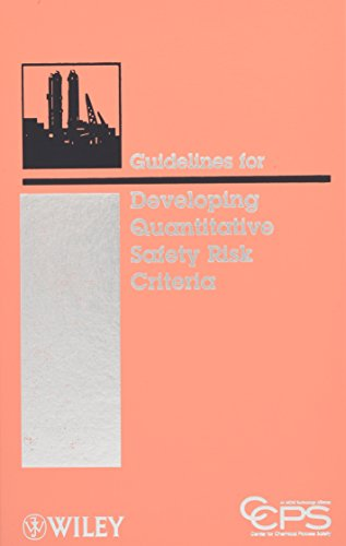 Download Guidelines for Developing Quantitative Safety Risk Criteria 0470261404