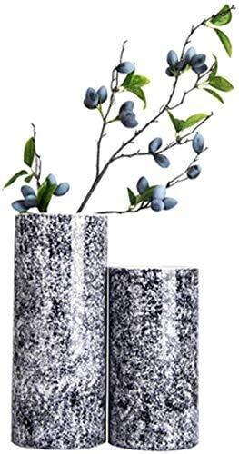 FACAIA Kreative Einfachheit Vasen Keramik Wohnzimmer Küche Esstisch Home Office Hochzeit Core Ornament Geschenkset von 2 15 28 14Cm Wohnaccessoires