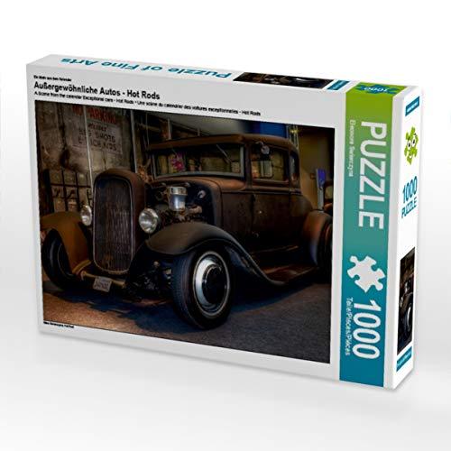CALVENDO Puzzle Außergewöhnliche Autos - Hot Rods 1000 Teile Lege-Größe 64 x 48 cm Foto-Puzzle Bild von Eleonore Swierczyna