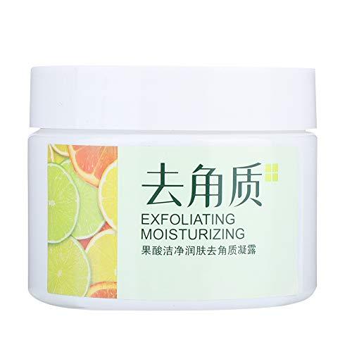 Crema Exfoliante, 140g Gel Exfoliante Para El Cuerpo Crema Hidratante Para El Cuidado de La Piel, Eliminación Eficaz de la piel Seca, piel Rugosa, Piel Muerta, Poros de Limpiez