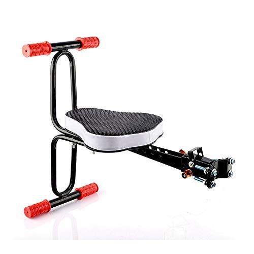 Sillín de bicicleta eléctrico ampliado, asiento de bebé, asiento de seguridad infantil, MTB Quick Release Sillín Kids con reposabrazos, Bar Pedal Ciclismo Acccessories