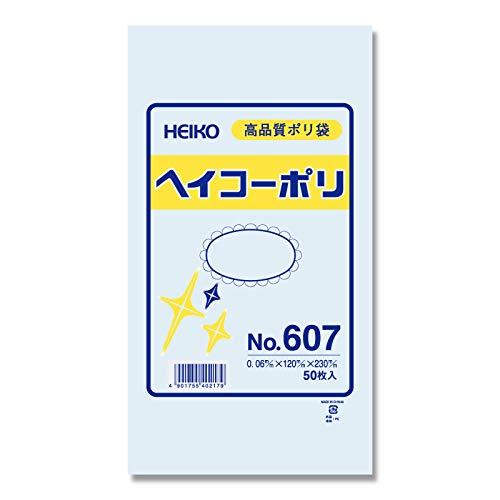 シモジマ HEIKO ポリ規格袋ヘイコーポリNo.607紐なし 006619700