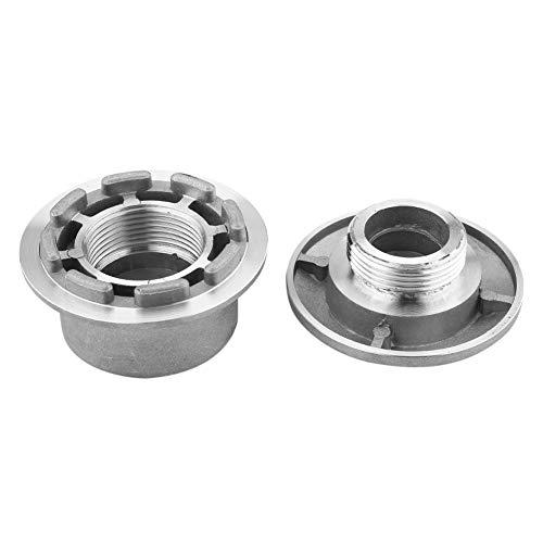 Zoternen Universal-Kopf für Motorsense aus Aluminium, die Vibration ist klein, verblasst gut und langlebig, Zubehör für Rasenmäher