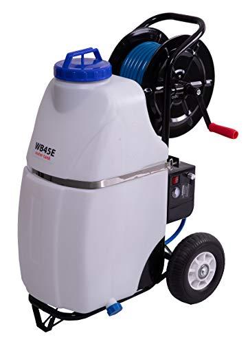 EURODIMA Druckwasserbehälter , Sprühgerät , Pflanzenschutz , inkl. Wasserschlauch, 45 l Kunststofftank & Sprühlanze , Desinfektion, Schädlingsbekämpfung