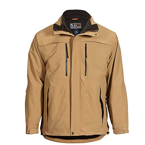 5.11 Tactical Series Bristol Parka Veste Homme, Coyote, FR (Taille Fabricant : 3XL)
