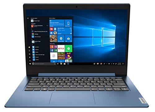 Lenovo IdeaPad 1 Notebook, Display 14' HD, Processore Intel Celeron N4020, 64 GB eMMC, RAM 4 GB, Windows 10 in modalità S, Ice Blue